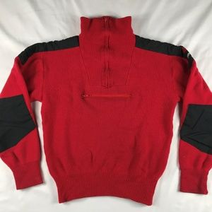 VTG  THE NORTH FACE Extreme Red Wool Ski Sweater